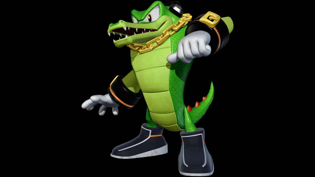 "Vector The Crocodile Tells You To ""Find The Computer Room"