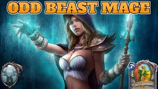 [Legend] Odd Beast Aggro Mage | New Odd Mage | Rastakhan