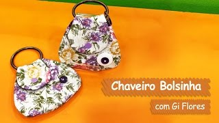 Chaveiro Bolsinha – Gi Flores