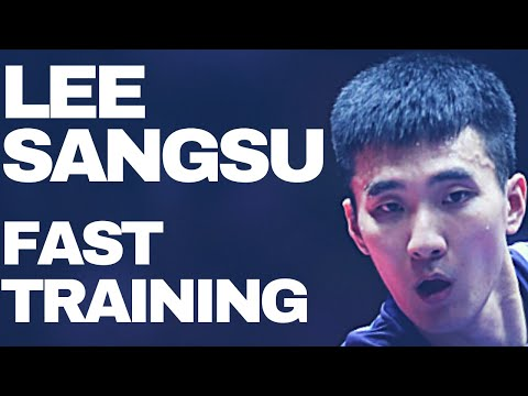 Training With JEONG Sangeun and LEE Sangsu @ WORLD CUP 2017 TABLE TENNIS (Short Form-Private Record)