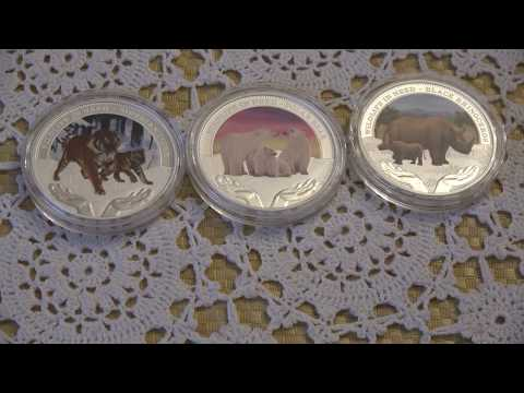 Perth Mint Tuvalu Wildlife In Need Series 1 Oz Silver