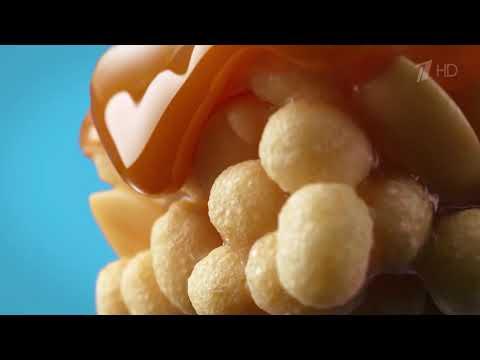 """Шоколадный батончик """"Snickers Crisper"""" - рекламный ролик"""