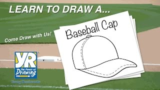 Teaching Kids How to Draw: How to Draw a Baseball Cap