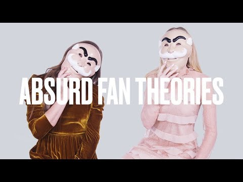 Carly Chaikin and Portia Doubleday Read Crazy Mr. Robot Theories |  Absurd Fan Theories | ELLE