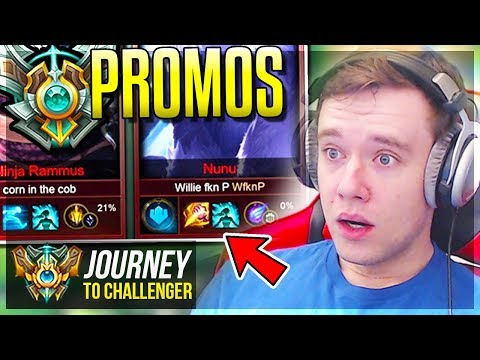 MASTER PROMOS FROM HELL DO I MAKE IT BACK?? - Journey To Challenger  League of Legends