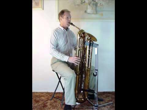 Tubax Contrabass Saxophone with Big Band