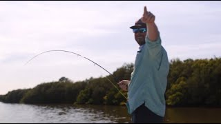 Hunting for Florida Reds on the Fly with The Wade Rod Co.