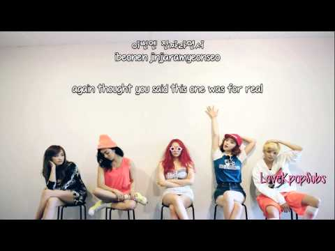 F(x) - No more (여우 같은 내 친구) [English subs + Romanization + Hangul] HD