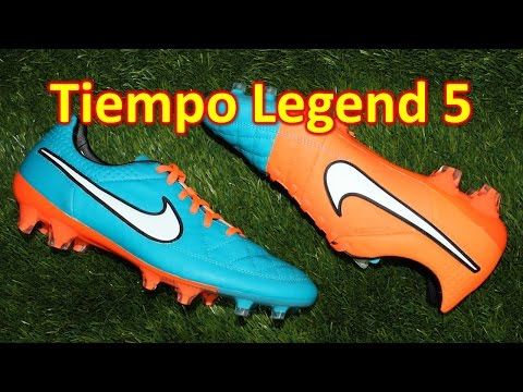 Nike Tiempo Legend 5 Neo Turquoise/Hyper Crimson - Review + On Feet