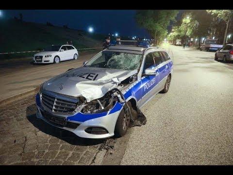 Tödlicher Unfall am Kleinen Grasbrook in Hamburg: Streifenwagen erfasst Fußgänger