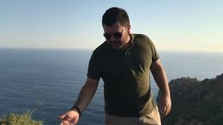 Denize karşı doğada nargile keyfi
