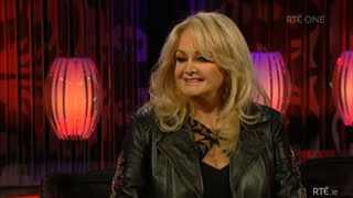 Bonnie Tyler interview on The Saturday Night Show 2014