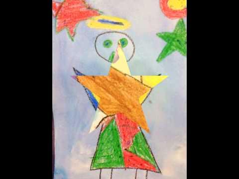 Stacie Cantin Art Teacher - Joan Miro Inspired student art Gulfview Middle School