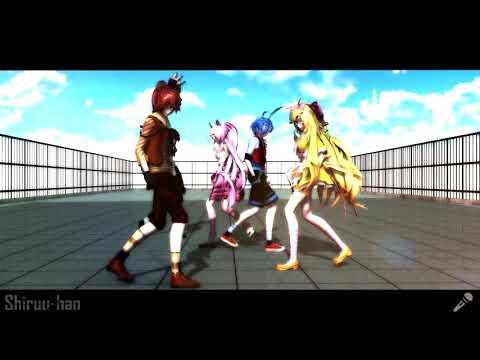 (MMD x FNAF2) Umbrella Remix