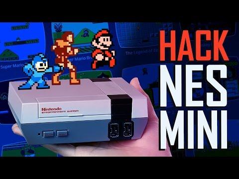 Le HACK de la NES MINI (Tuto dans la description)