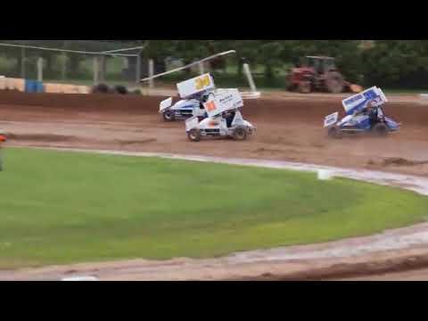7 27 13 Plymouth Dirt Track   360 Sprint Car Racing 360p