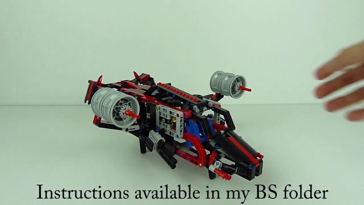 Lego Technic Dropship 8081 Youtube