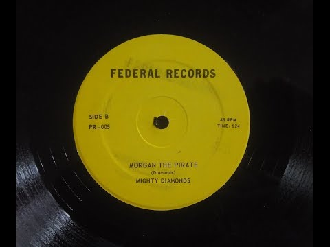Mighty Diamonds -  Morgan The Pirate (Federal Records 12 inch)