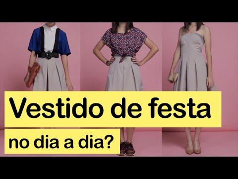 Como Usar Vestido De Festa No Dia A Dia