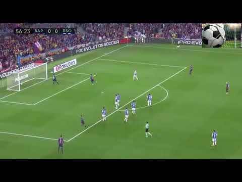 Gol de Coutinho Barcelona 1-0 Real Sociedad