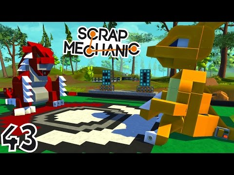 INCROYABLE DUEL DE POKÉMON ! | Scrap Mechanic ! #Ep43
