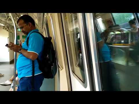 SMRT North South Line C151 MRT ride from Woodlands to Kranji (NorthBound)