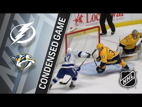 Tampa Bay Lightning vs Nashville Predators – Jan. 23, 2018 | Game Highlights | NHL 2017/18. Обзор