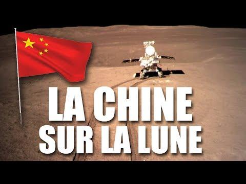 La CHINE se pose sur la face cachée de la LUNE ! - EC
