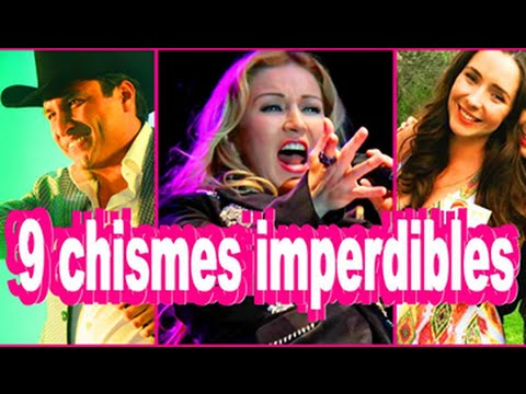 9 chismes imperdibles noticias recientes youtube for Chismes y espectaculos recientes