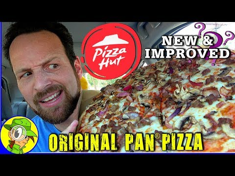 Pizza Hut® | NEW & IMPROVED Original Pan® Pizza Review 🥘🍕 | Peep THIS Out! 🤔
