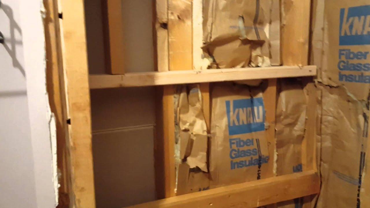 Framed Niche Shower Bench