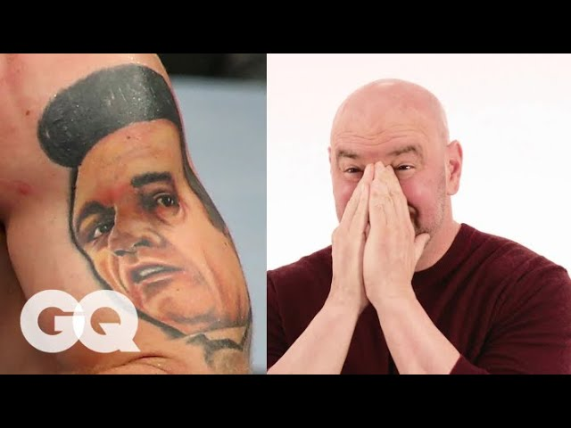 dana-white-tries-to-guess-ufc-fighter-s-tattoos-tattoo-tour-gq