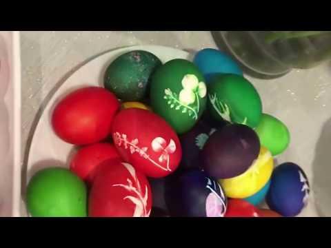 Красим яйца к Пасхе 10 способов Мастер классы