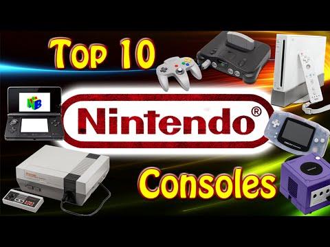 Top 10 Nintendo Consoles