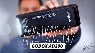 Best Portable Flash - GODOX AD200 Off Camera Flash Review + Unboxing