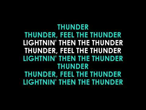 Thunder Karaoke Imagine Dragons