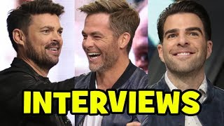 STAR TREK BEYOND Cast Interviews