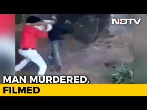 Chilling Murder In Rajasthan On Video  Man Hacks Labourer, Burns Him