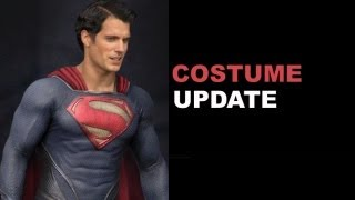 Man of Steel 2013 Costume Update - Details on the Suit! : Beyond The Trailer @ Comic Con