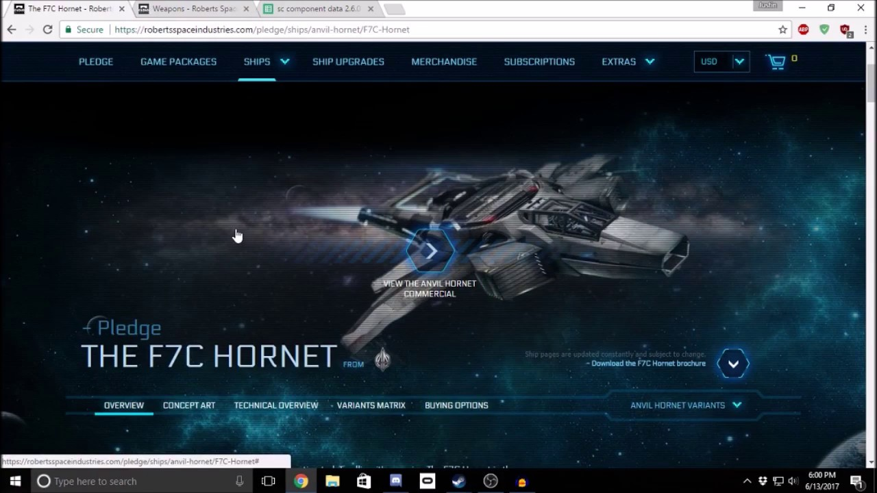 Star Citizen New Player Guide - Ship Weapon Fittings