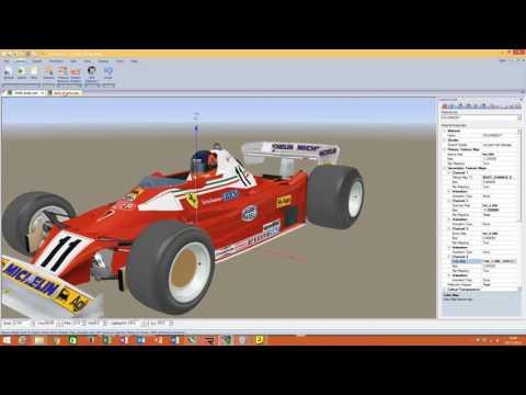 rFactor 2 Car Tutorial  Part 2 Editing the Material Settings