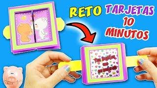 5 DIYs RETO TARJETAS EN 10 MINUTOS - EPISODIO 5: TARJETA Cubo Expandible / Manualidades aPasos