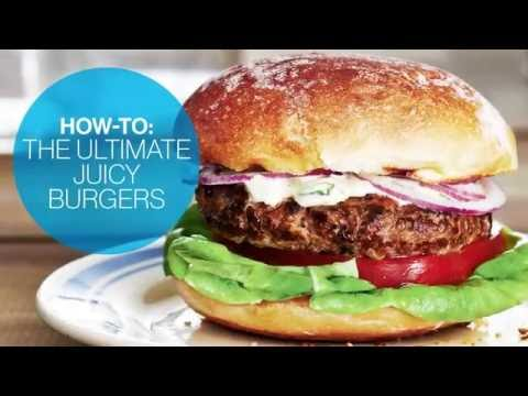How To Make The Ultimate Juicy Burgers   Canadian Living