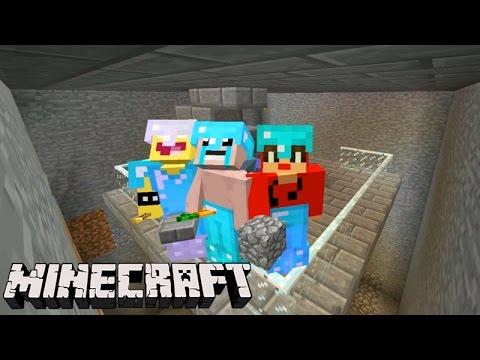 Minecraft: EQUIPE SURVIVAL - A SALA SUBTERRÂNEA!!! #123
