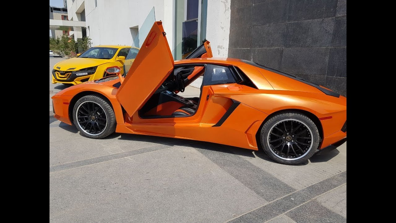 694eac21a7c9 Lamborghini Aventador Modified From Honda Accord - By EMT - YouTube
