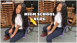 GRWM: HIGH SCHOOL + MINI VLOG💖