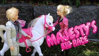 barbie majesty s big race