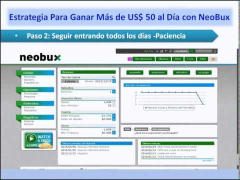 Cómo Ganar US$ 20 Darios en Neobux 2014 Paso a Paso Explicado como Nadie!