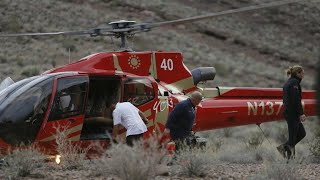 3 dead in Grand Canyon helicopter crash