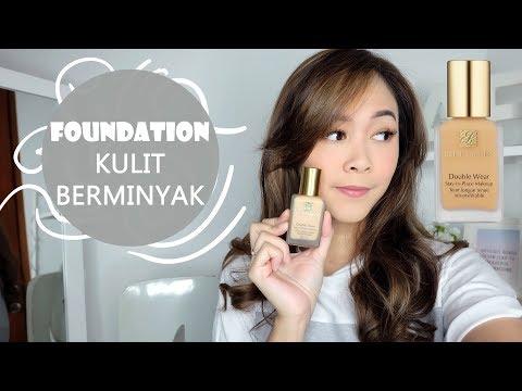 Foundation For Oily Skin? Estee Lauder Double Wear / REVIEW & WEAR TEST - Almiranti Fira